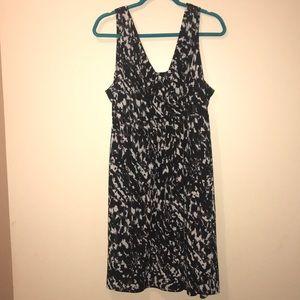 Women's XL maxi dress by Loft Brown, Black, cream